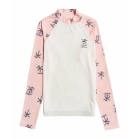T-shirt anti-UV pour filles - Manches longues - Swim - Pêche tropicale
