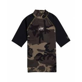 T-shirt anti-UV pour homme - Manches courtes - CONTRASTE - Camo