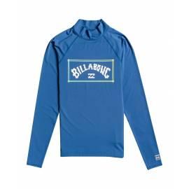 T-shirt anti-UV pour homme - Manches longues - Unité - Bleu foncé