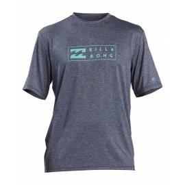 T-shirt anti-UV pour homme - Manches courtes - Unité - marine Bruyère
