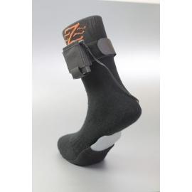 Chaussettes chauffantes 3.7V noires Blazewear