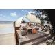 Tente de plage CONFORT Beige, certifié anti UV
