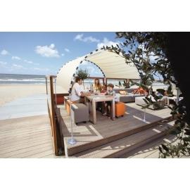 Tente de plage anti uv CONFORT Beige certifié