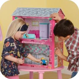 Maison de poupées Camden avec accessoires, Plum.