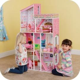 Maison de poupées Tillington avec accessoires, Plum.
