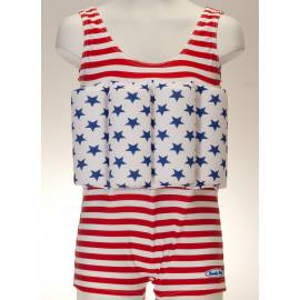 Maillot de bain anti uv flottant American Dream
