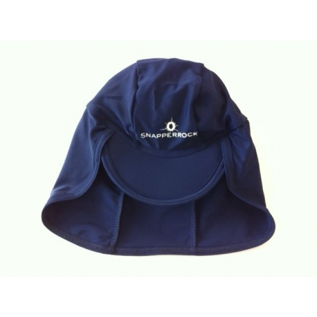 Snapper Rock, Casquette anti uv pour bébé - Navy 072f6bc543b