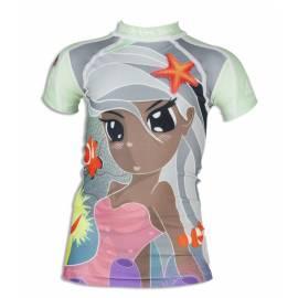 T-shirt anti uv manches courtes enfant - Princess of sea