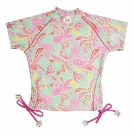 T-shirt de bain manches courtes anti uv Fille - Paisley park