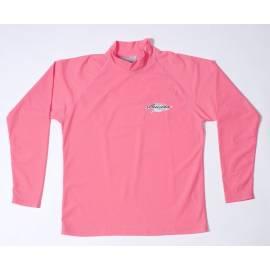T-shirt de surf manches longues anti uv mixte - Rose