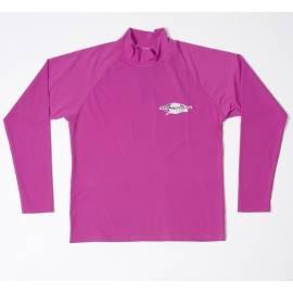 T-shirt de surf manches courtes anti uv mixte - Violet