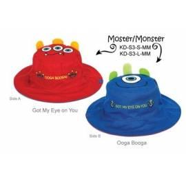 Chapeau soleil anti uv enfant réversible Monstres