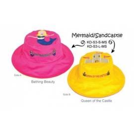 Chapeau soleil anti uv enfant réversible Sirne/Ch‰teau de sable