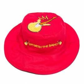 Chapeau soleil anti uv enfant réversible Guitare/Clé de sol