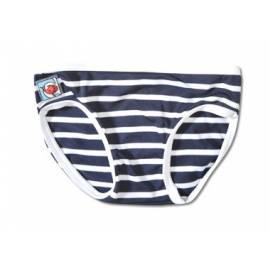 Bas de maillot de bain anti uv enfant - Bleu Rayé Blanc