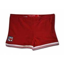 Short de bain anti uv bébé - Red/Stripe Trim