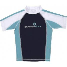T-Shirt manches courtes anti uv - Bleu marine/bleu clair/Blanc