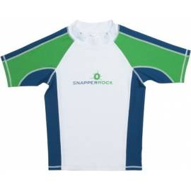 T-Shirt manches courtes anti uv - Bleu marine/Vert
