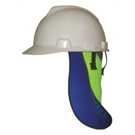 Système de protection du cou rafraichissant Jaune, Techniche.