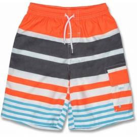 Boardshort anti uv enfant - Rayé Orange