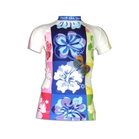4BB2, T-shirt anti uv manches courtes enfant - Hawaii bfa98b775406