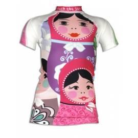 T-shirt anti uv manches courtes enfant - Poupee Russe
