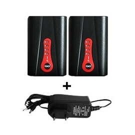 Pack 2 Batteries 7.4V HeatControl + 1 chargeur