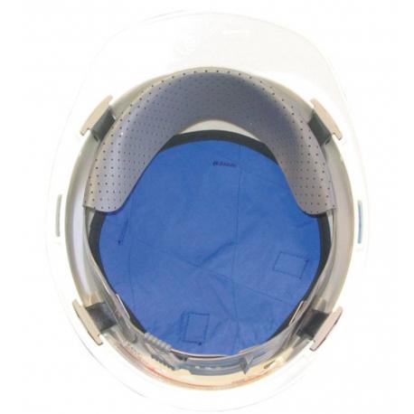 Fond de casque rafraichissant bleu, Techniche.