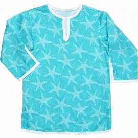 Caftan anti uv fille - Aqua Starfish