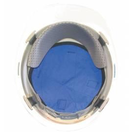Fond de casque refroidissant bleu avec PCM, Techniche.