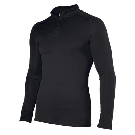 Damart, Tee-shirt col zippé Thermolactyl® Easy body 4 homme