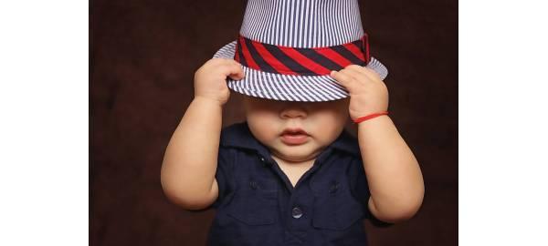 Chapeaux anti uv bébé