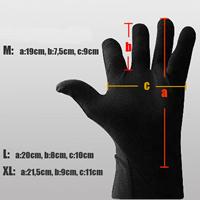 Taille gants Warmthru