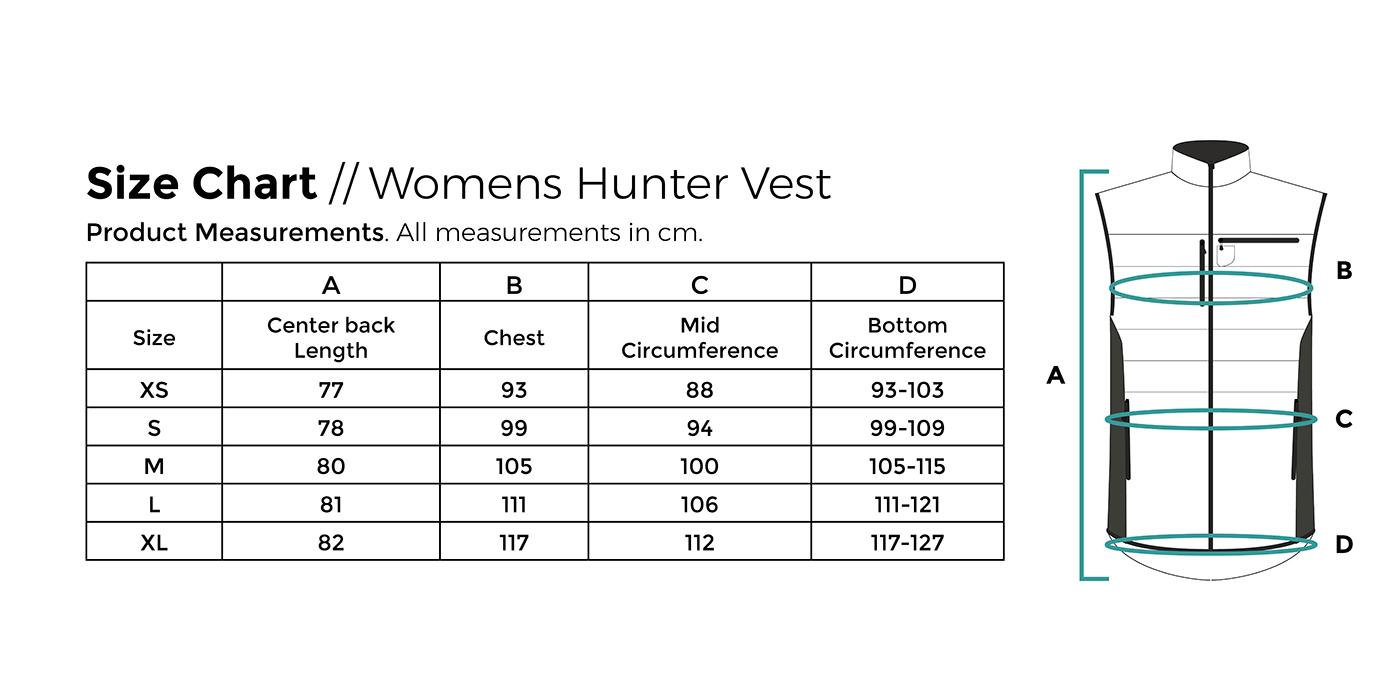 Size-Chart-webshop-2019_Womens_Hunter_Ve