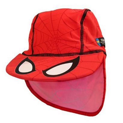 Casquette-de-bain-anti-uv-Spiderman