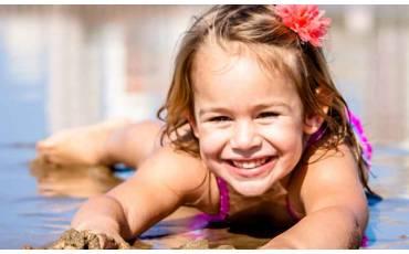 Maillot de bain anti UV pour bébés